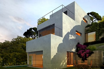 Habitage unifamiliar estudio arquitectura e interiorismo - Casa menorca barcelona ...